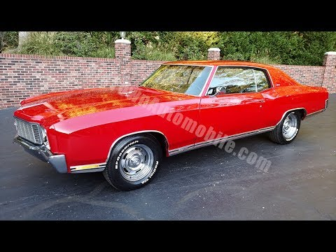 1971 chevrolet monte carlo ss in red for sale old town. Black Bedroom Furniture Sets. Home Design Ideas