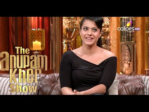 Kajol - The Anupam Kher Show - Season 2 - 1st November 2015