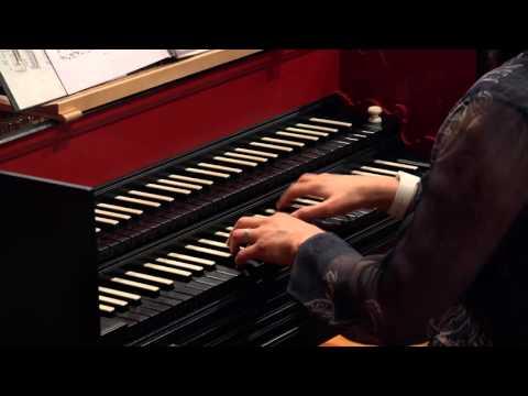 J.S. Bach: Prelude in E Flat Major BWV 998, JungHae Kim, harpsichord