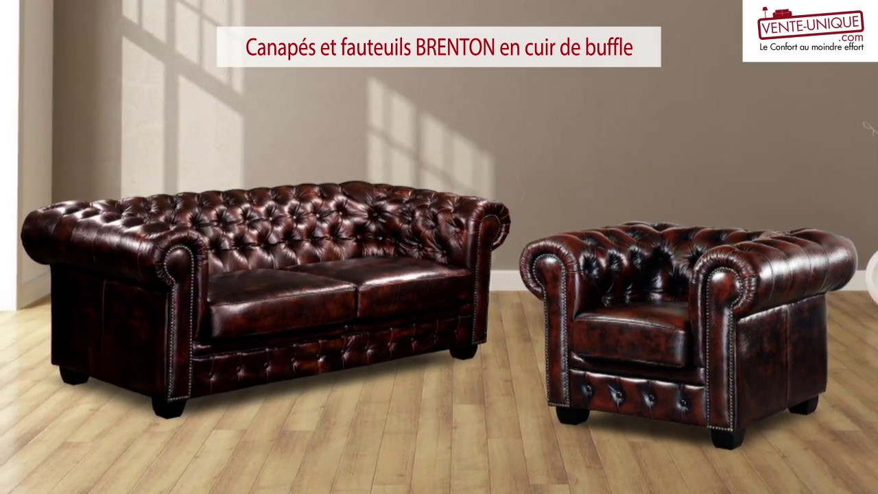 Fauteuil Chesterfield Origine Lot De 2 Fauteuils Chesterfield Brenton 100 Cuir De Buffle Vert Empire