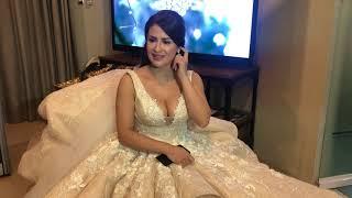 JAYCEE PARKER PRESS INTERVIEW BEFORE WEDDING CEREMONY