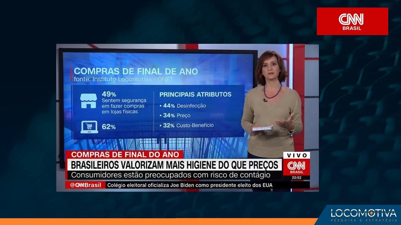 CNN BRASIL: Brasileiros valorizam mais higiene do que preços nas compras de final de ano