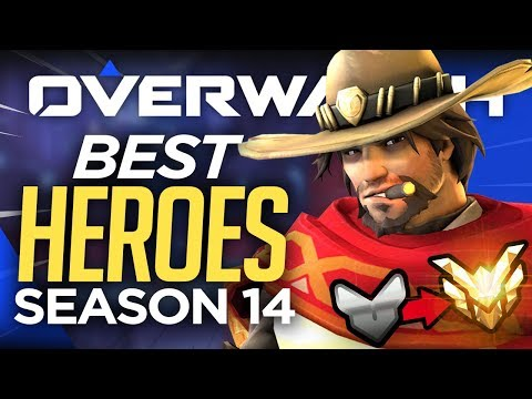 Overwatch Season 14 BEST 6 HEROES! & Placement Tips (Overwatch Guide)