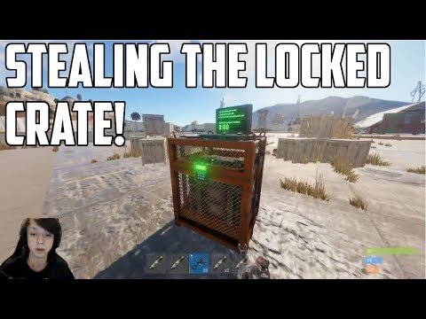 RUST - STEALING THE CHINOOK LOCKED CRATE