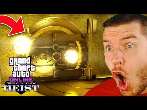 Die NEUEN GTA 5 DIAMOND CASINO HEIST!
