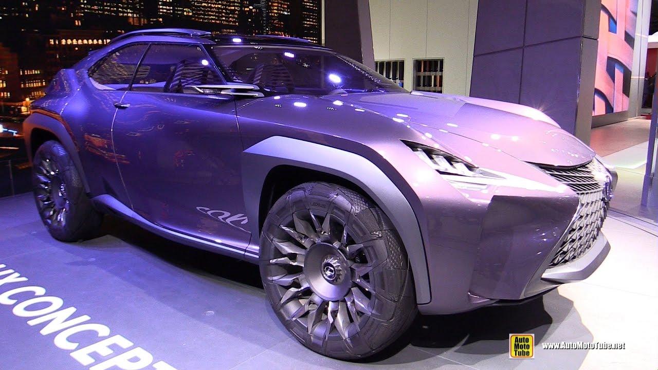 Lexus UX Concept - Exterior Walkaround - Debut at 2016 Paris Motor ...