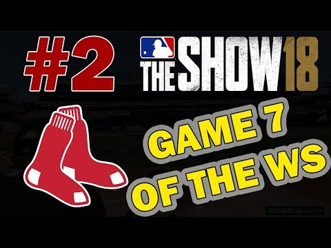 GAME 7 OF THE WORLD SERIES!! BOSTON RED SOX FRANCHISE