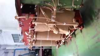 inside a transformer 35 kv to 10 kv with cooling oil