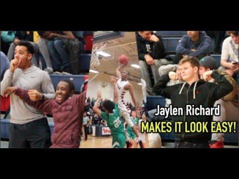 Jaylen Richard vs DJ Horne on SENIOR NIGHT! LIT CROWD!