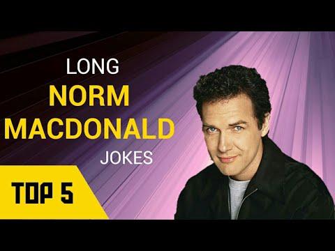 Top 5 Norm Macdonald's Longest jokes | 33 minutes of Norm ...