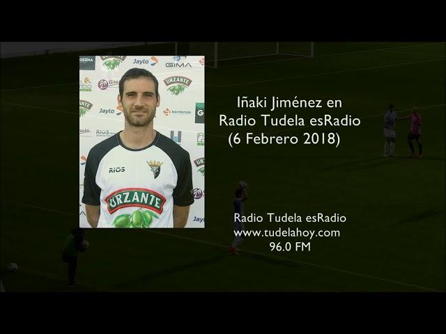 Entrevista a Iñaki Jiménez en Radio Tudela esRadio 06-02-18