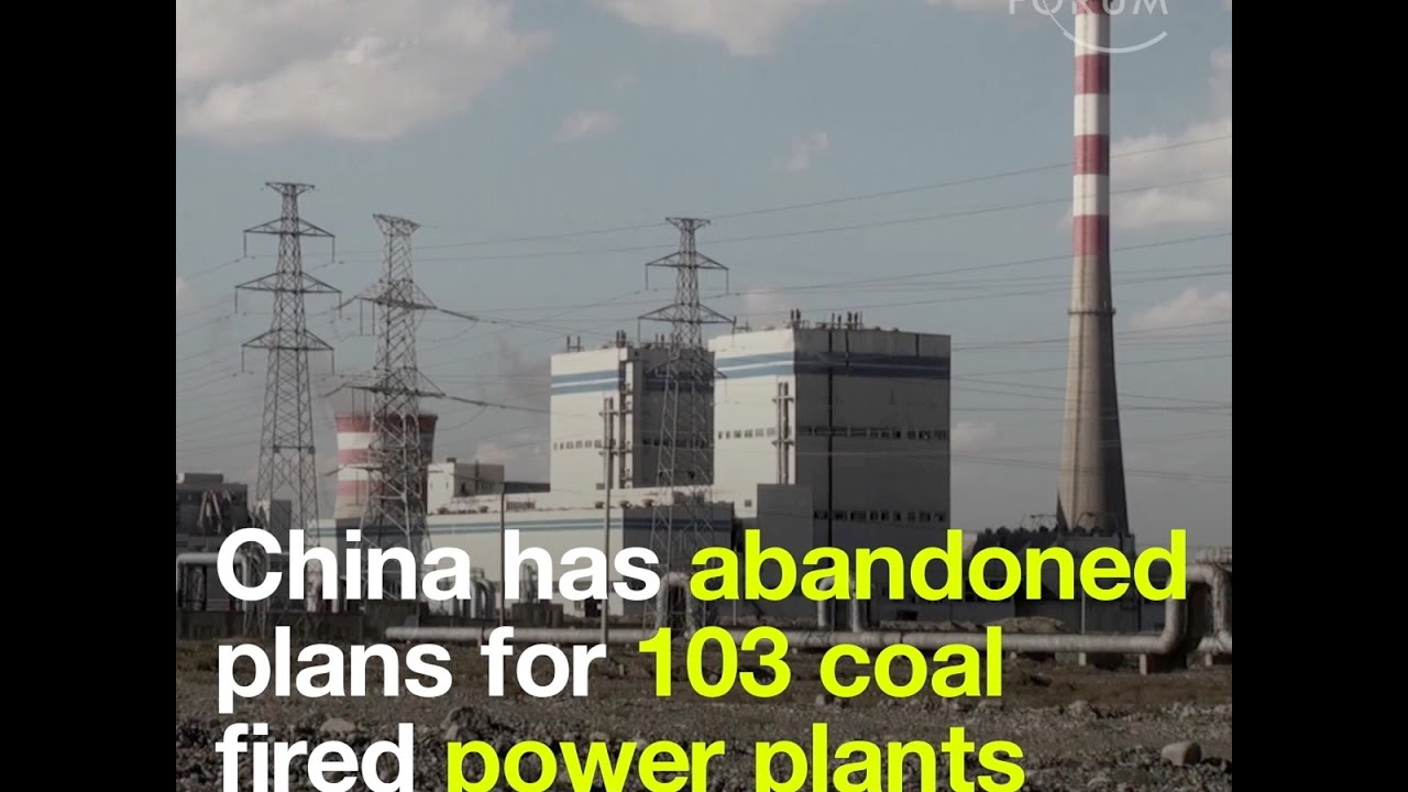 China has abandoned plans for 103 coal fired power plants