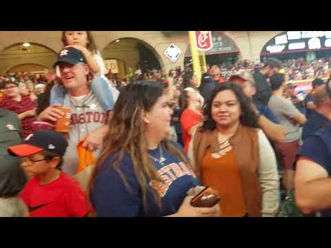 ASTROS WATCH PARTY GAME 7 THE LAST OUT!! WITH STREAKER!