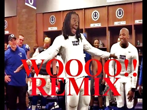 "Sergio Brown & Ric Flair - The Wooo Song ""Colts' Sergio Brown does his Ric Flair impression REMIX"""