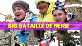 BATAILLE DE BOULES DE NEIGE GEANTE avec la GULIVETEAM-GULLI