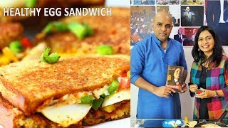 मसालेदार अंडा सँडविच | Spicy Egg Sandwich |Ft. SnehalNiti | Street Food | MadhurasRecipe Ep - 480