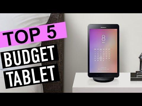 BEST 5: Budget Tablet