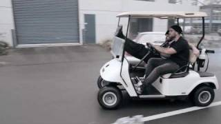 Take the golf cart - DELIVER ME TO ...