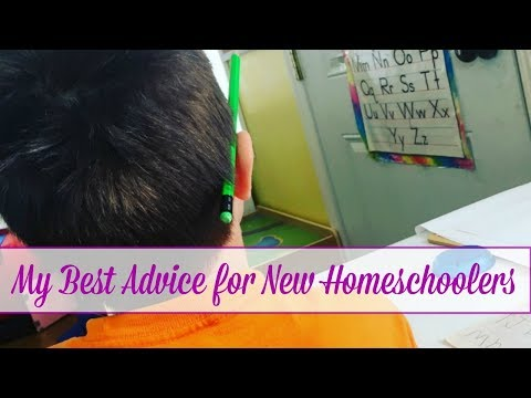 My Best Advice for New Homeschoolers