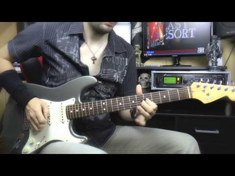 Guitar improvisation on a pop rock backing track - Neo
