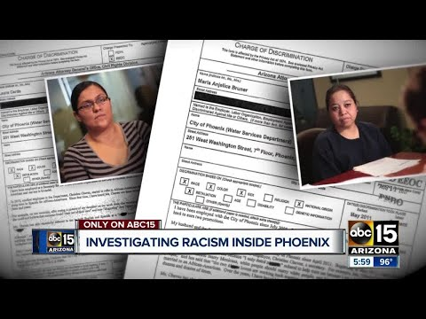City of Phoenix employees allege years of extreme racial discrimination