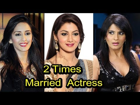 10 Television Actresses Who Married 2 Times