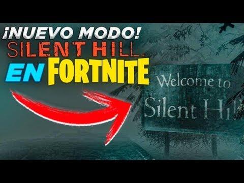 NUEVO MODO * SILENT HILL * EN FORTNITE  ( MODO TERRORIFICO )