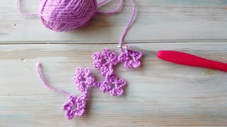 In this quick, on the go crochet tutorial I show you how to crochet a flower chain using just chains and slip stitches. Make sure to tag your creations on Instagram ...