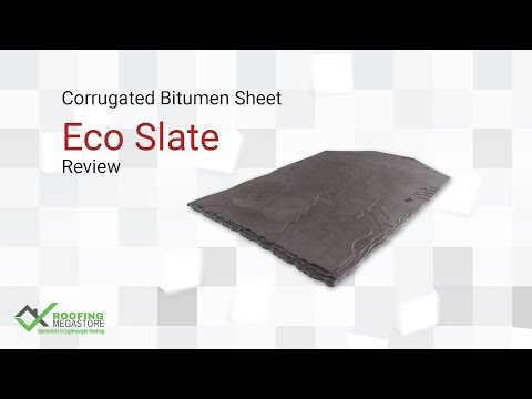 Eco Slate Plastic Roof Tile Product Description by Roofing M