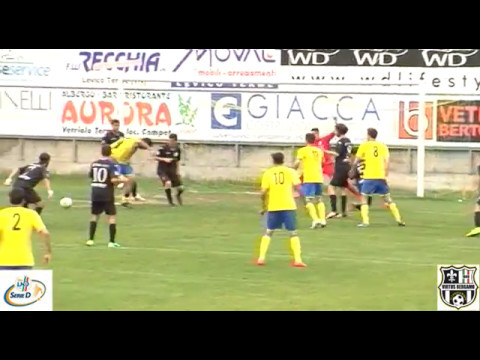 Levico Terme-Virtus Bergamo 1909 2-0, ultima giornata di ritorno Serie D Girone B 2016/2017