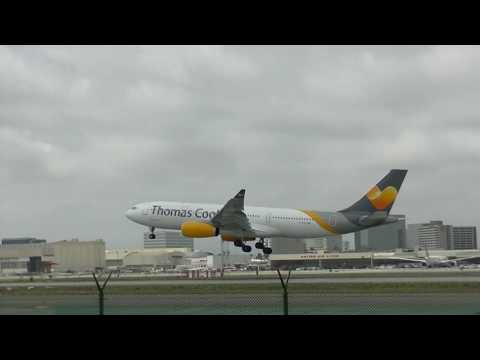 Thomas Cook Airlines Flight 824 MAN-LAX May 14 2016 G-TCXC