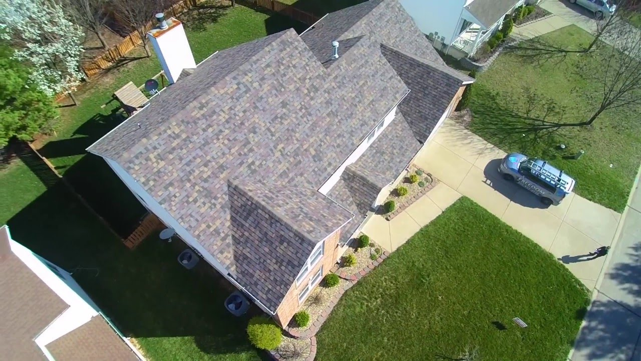 Hail Damaged Roof In O Fallon Mo Replaced With Owens