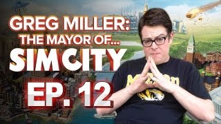 Greg Miller: Mayor of SimCity - The Failure of My Industrial City - Greg Plays SimCity Ep. 12