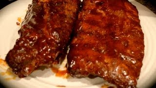 Fuzzy's Kitchen - Apple Smoked Ribs