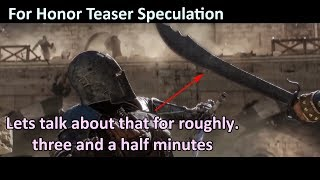 A new hero enters the arena! - For Honor's E3 Teaser Trailers Discussion and Speculation