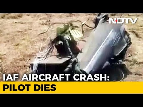 Air Force Jaguar Crashes In Gujarat, Pilot Killed