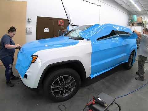Jeep Cherokee Wrap