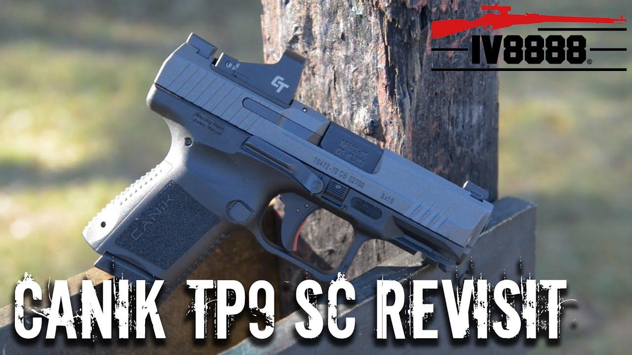 Canik TP9 Elite SC Revisit | NEW Crimson Trace 1550