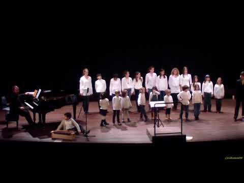 Rossinyols petits i mitjans al concert de Nadal de l'associació Cor Ciutat de Tarragona