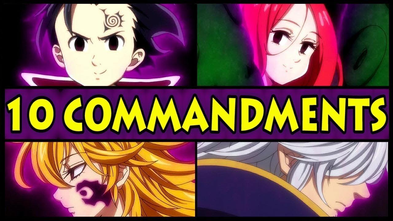 10 commandments seven deadly sins # 5