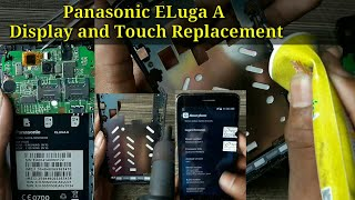 All Panasonic Eluga A Display And Touch Combo Replacement