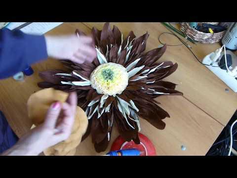 видео: Серединки для больших цветов