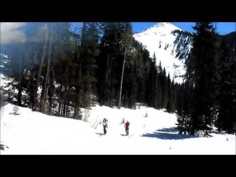 Pre-Laurel Peak: Ski Moab