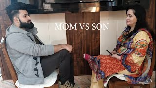 MOM VS SON  #Comedy #vines