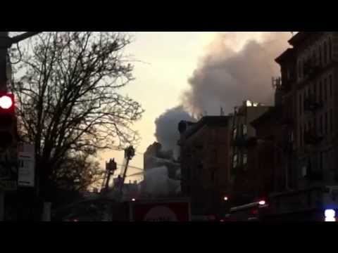 East Village Building Explosion / Collapse - NYC 2015