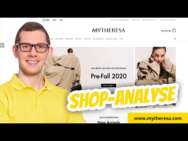 MYTHERESA.com Shopanalyse ✅ Analyse Onlineshop + Tipps zur Optimierung
