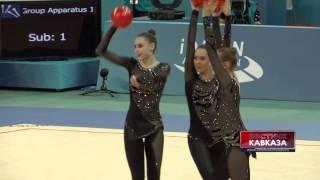 Художественная гимнастика: команда Украины(http://www.vestikavkaza.ru/video/, 2014-06-20T12:26:40.000Z)