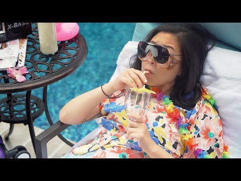 Awkwafina Has A Staycation In NYC | Ballin' On A Budget | RIOT