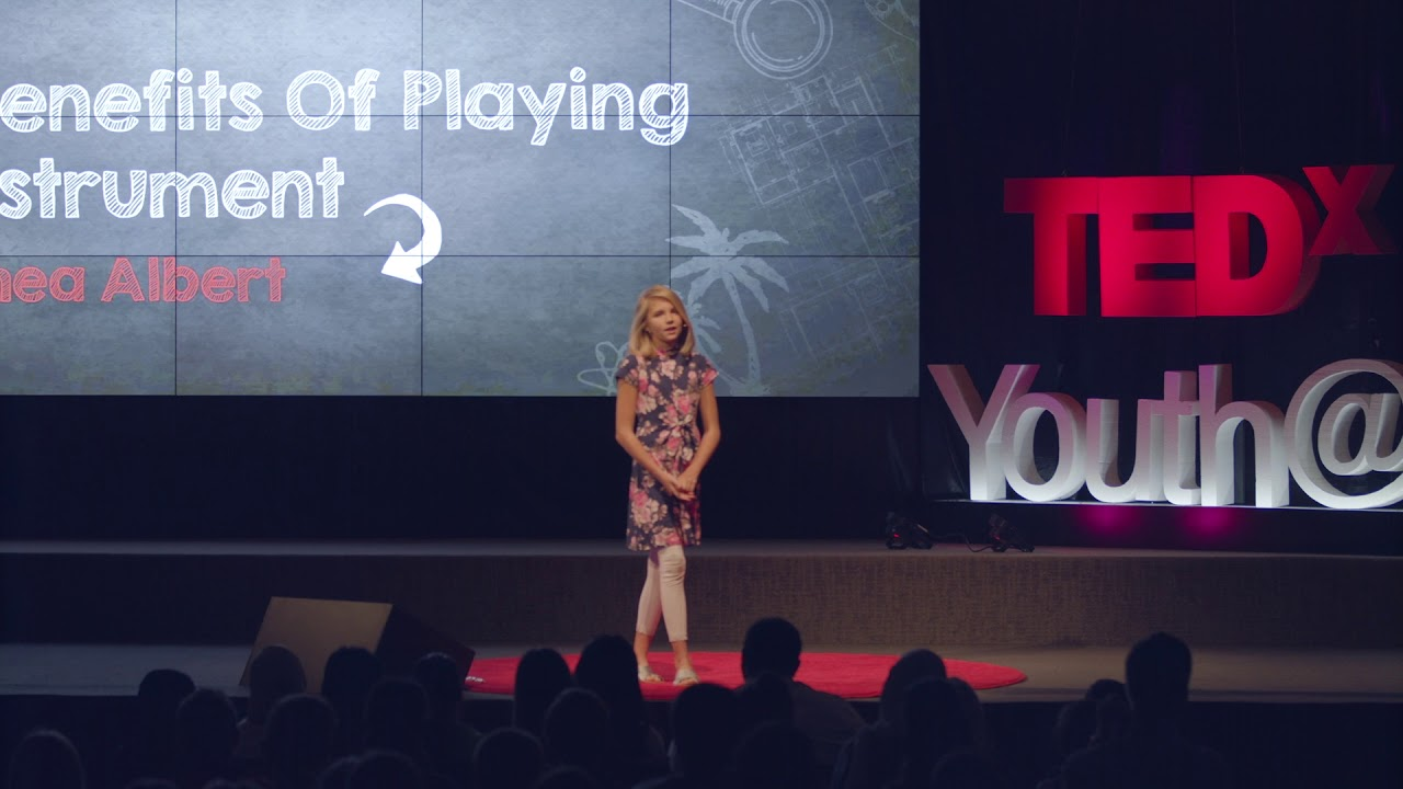 The Benefits of Playing an Instrument    Althea Albert   TEDxYouth@AISR