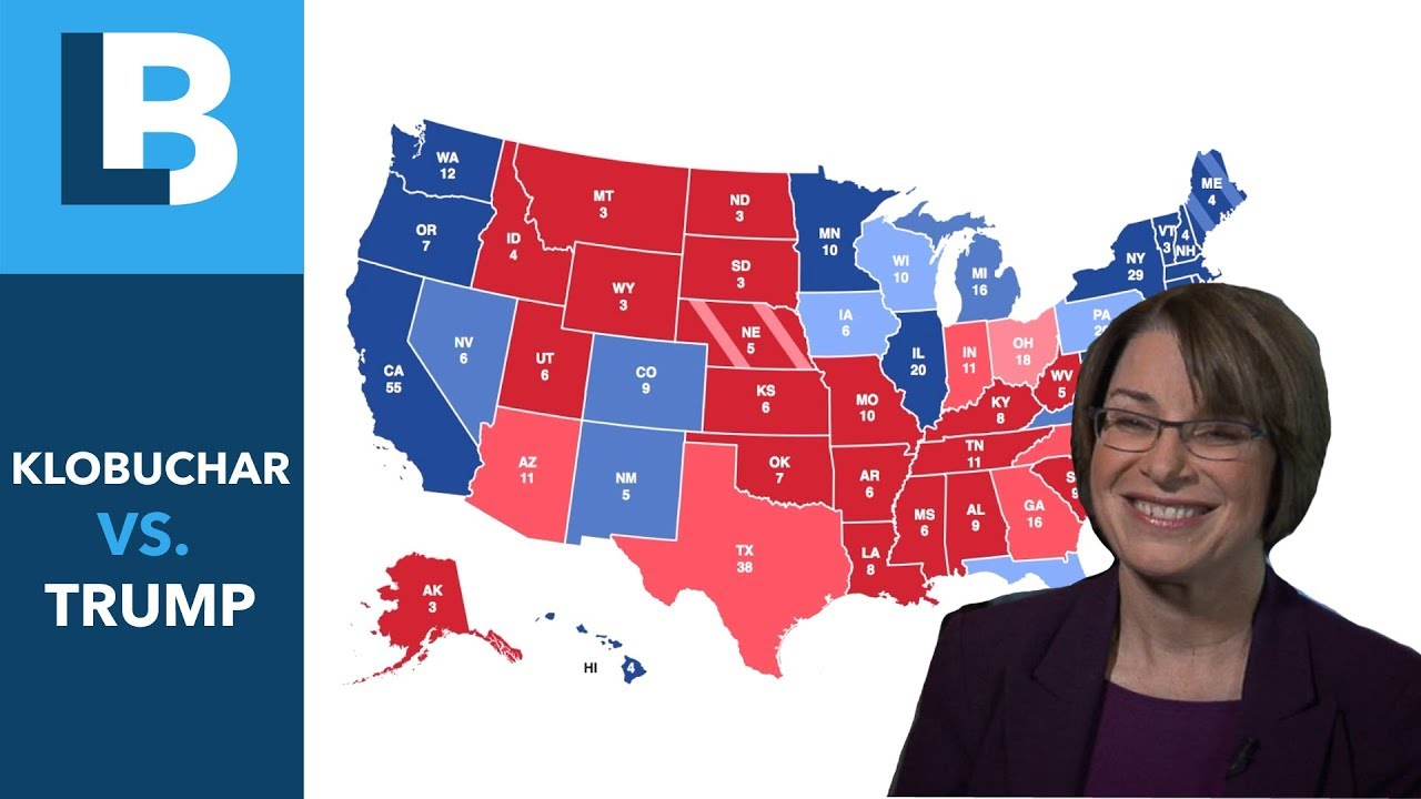 2020 Election Prediction: Klobuchar V  Trump